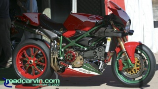 2001 996 SPS: Fans got a chance to see the details normally hidden by bodywork on this awesome 2001 Ducati 996 SPS.